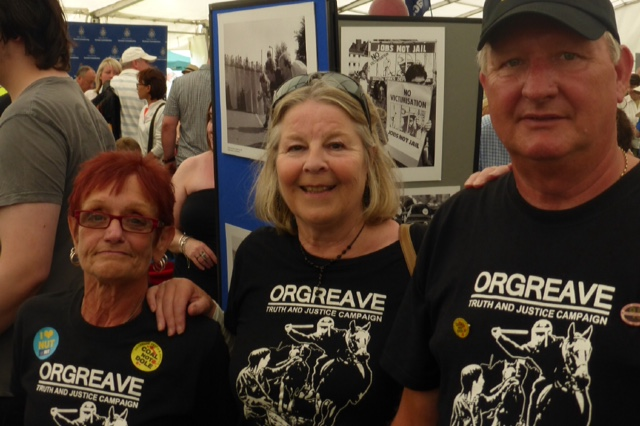 OTJC table at Durham Gala 11-7-2015