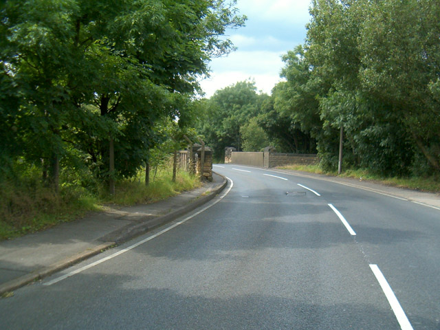 The Bridge on Hollings Lane where miners were forced to walk through an 'arch of truncheons'.