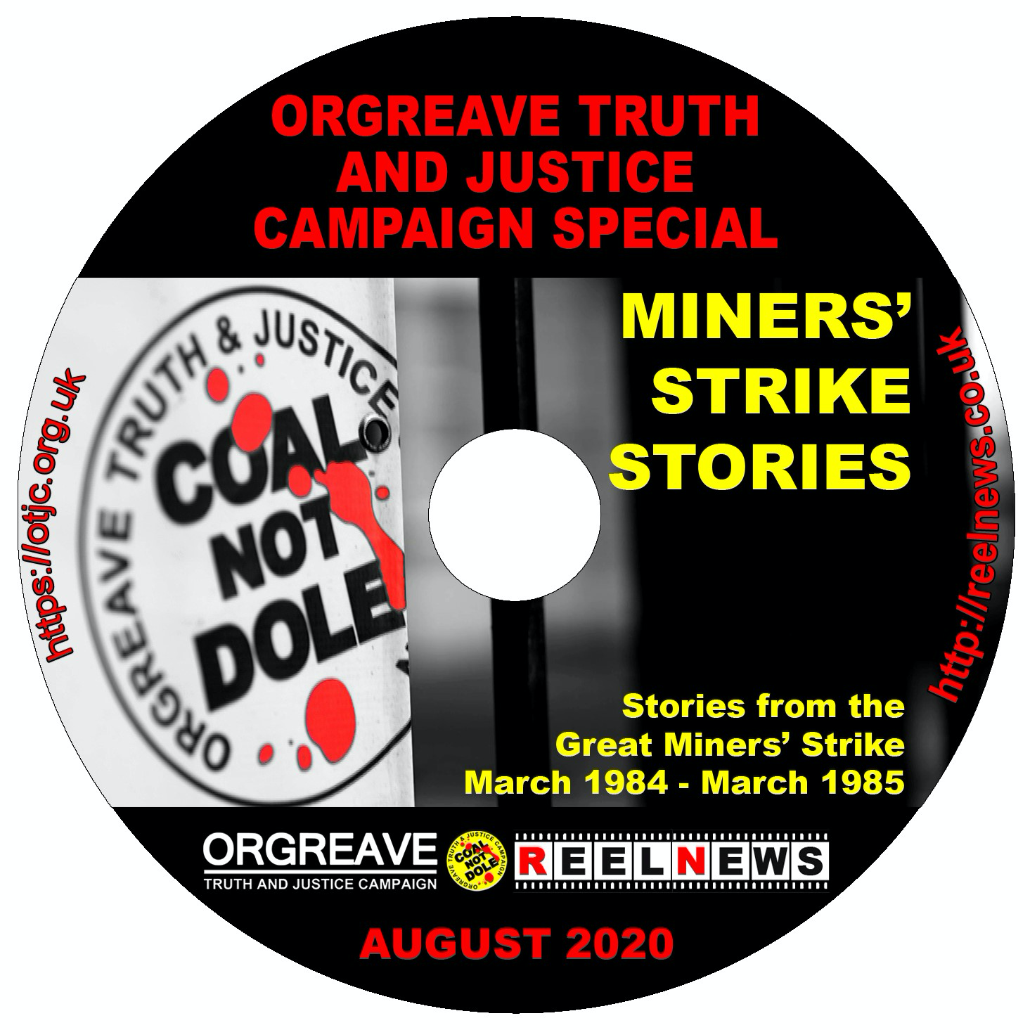 "Orgreave Campaign ""Miners Strike Stories"" Available on DVD order your copy today!"